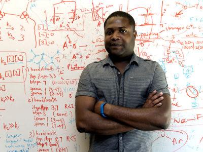 Gavin Jones är forskare vid IBM Research-Almaden i San Jose