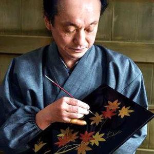 Japanske lackartisten Yutaro Shimode har hjälpt NEC i utvecklingsarbetet.